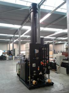 Biogas desulfurization